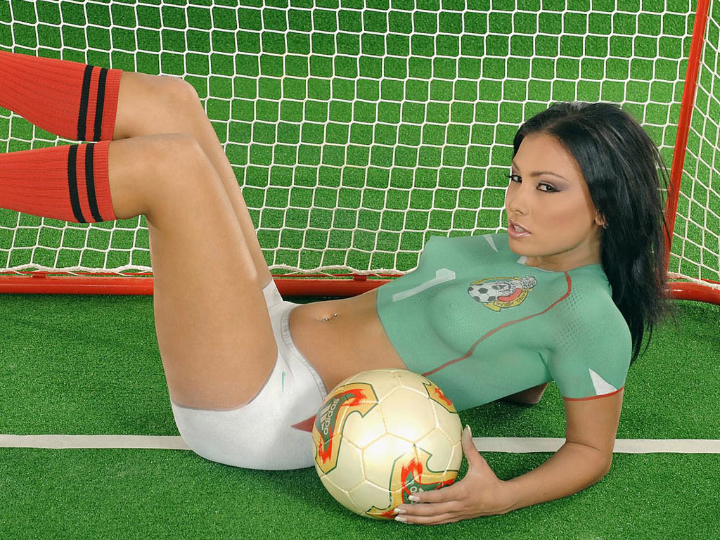Really. happens. asian soccer body paint interesting. Prompt